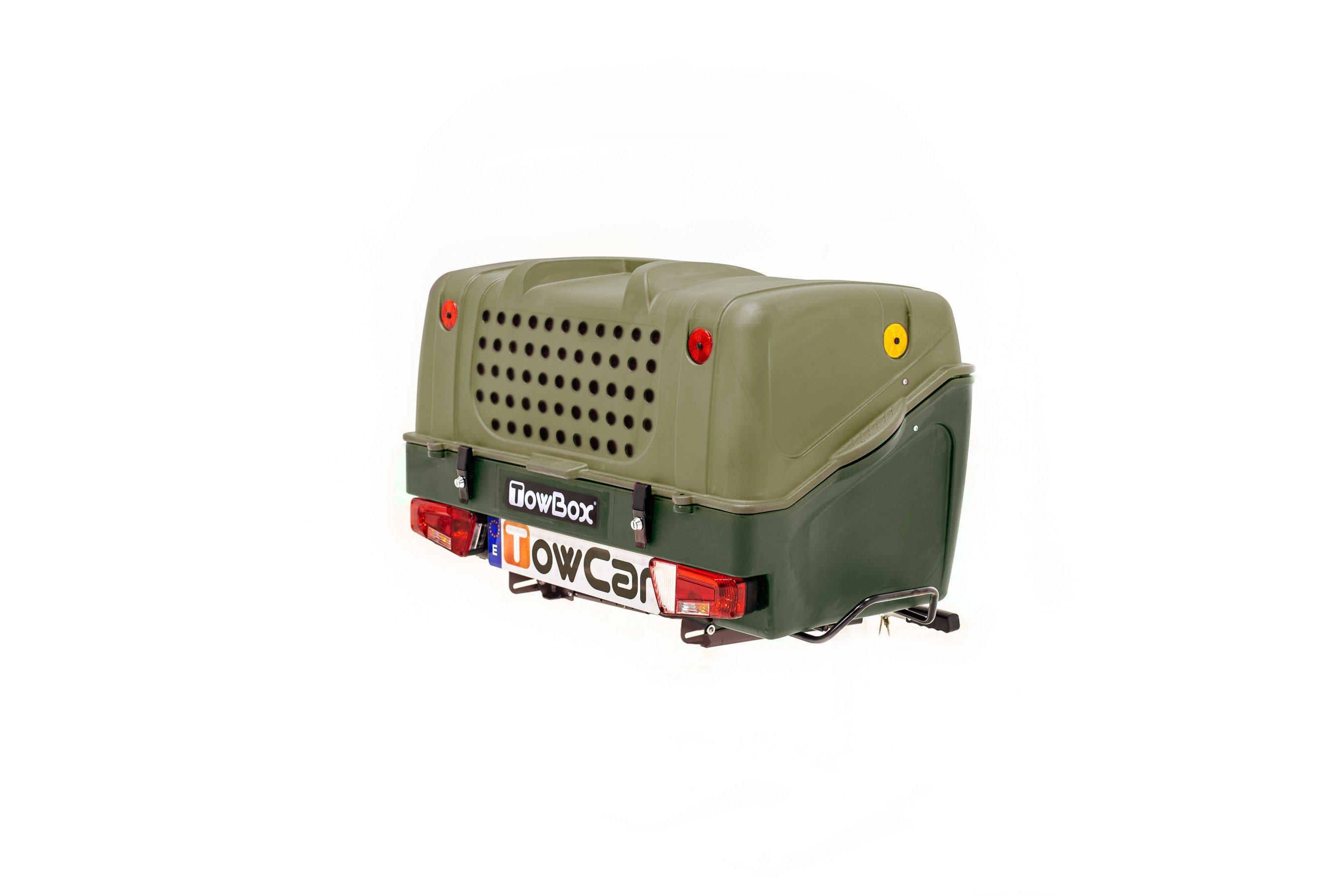Towbox V1 dog verde